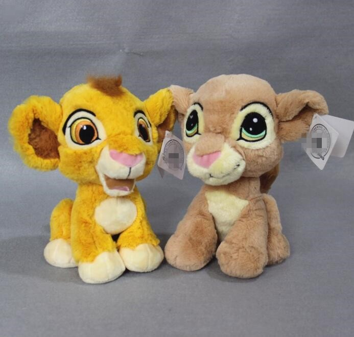 The Lion King Simba and Nana 25cm High Quaitly Children Stuffed Toy birthday gift doll si mba plush toys image