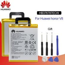 Original Battery For HUAWEI HB376787ECW 3400mAhFor Huawei Honor V8 KNT-AL20 KNT-UL10 KNT-AL10 KNT-TL00 Replacement Phone