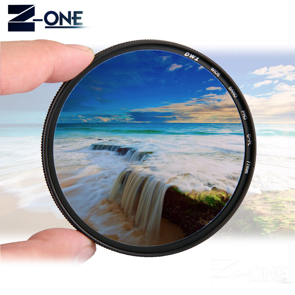 72mm Circular Polarizing Filter for Nikon 58mm Lens CPL