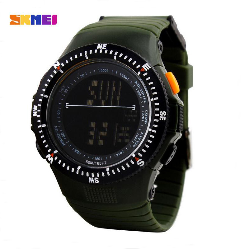 Skmei Brand Men Outdoor Army Sports Watches Fashion Watch Men Casual Quartz Clock Led Digital Waterproof Military Wristwatches 2018 sanda top brand outdoor men sports watches led digital waterproof wristwatches alarm calendar fashion casual quartz watch