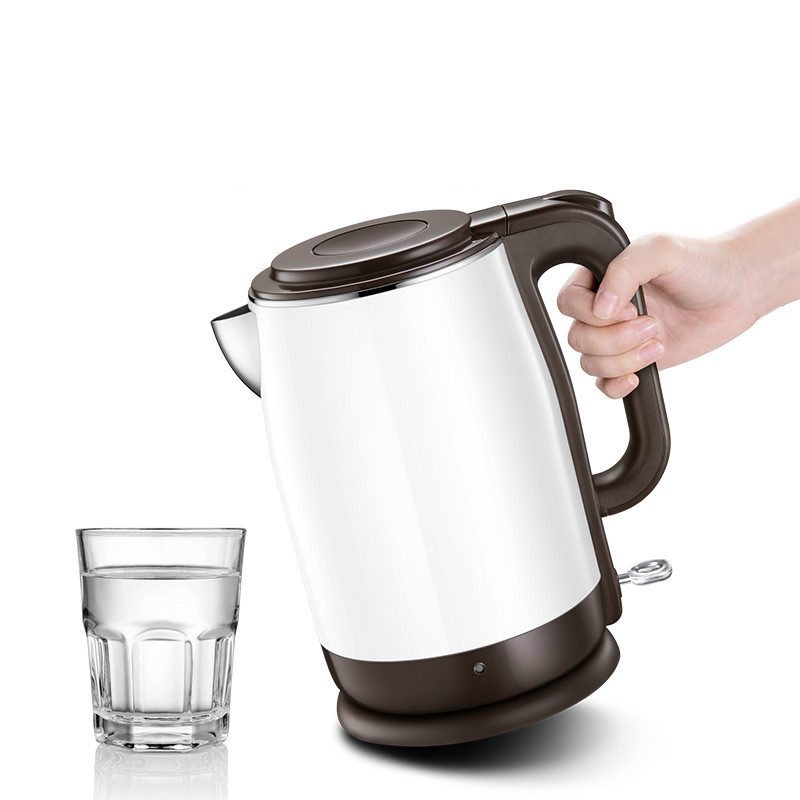 лучшая цена electric kettle insulated scalding 304 stainless steel house Safety Auto-Off Function