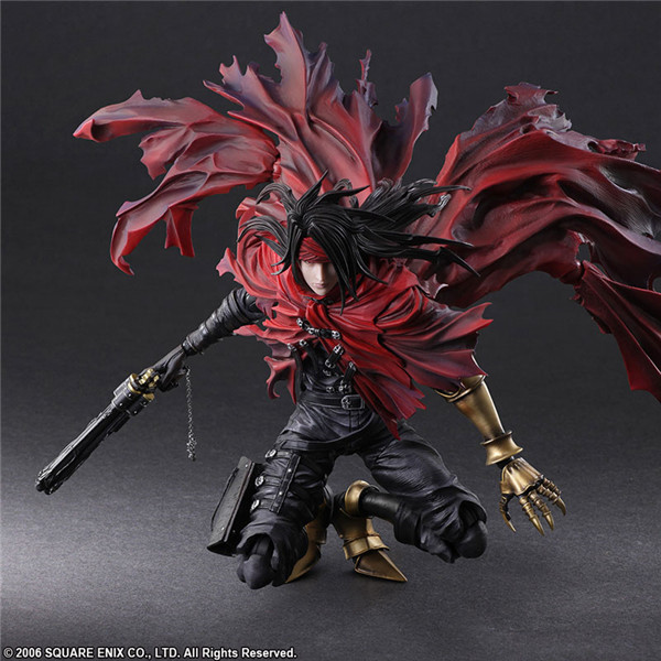 Kai PA Play Arts Dirge of Cerberus Final Fantasy 7 Vincent Felhunter Collectable Action Figure Model