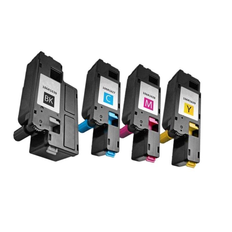 Prix pour 4 color compatible pour xerox phaser 6000 6010 workcentre 6015 cartouche de toner 106r01630/1627/1628/1629 106r01634/1631/1632/1633