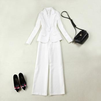 Now popular new ladies suit custom ladies suit two-piece suit (jacket + pants) women's business formal suit support custom