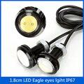 Car Styling Super Bright 10pcs/lot 18mm Eagle Eye LED Daytime Running Lights Parking Lamp led DRL Waterproof fog Light