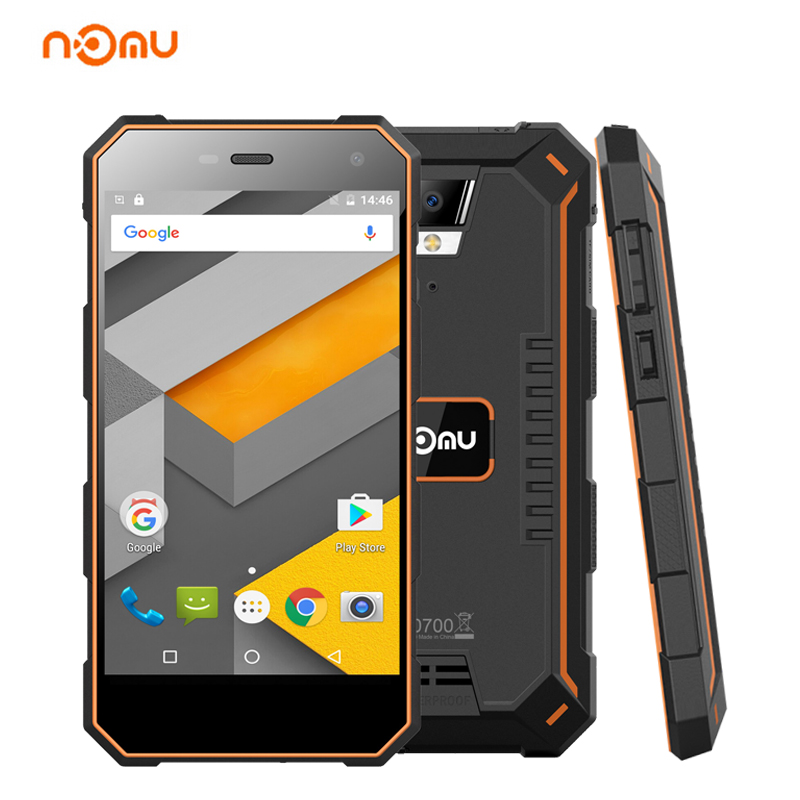 """NOMU S10 IP68 Waterproof Smartphone 5""""HD Android 6.0 2GB+16GB MT6737 Quad Core 13.0MP 5000mAh 4G LTE Shockproof Mobile Phone GPS"""