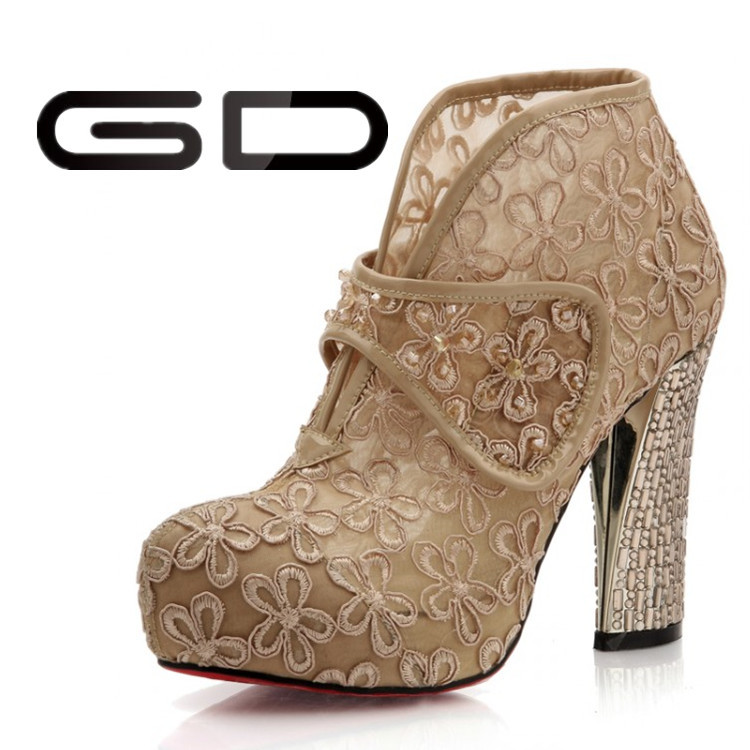 GD Profession ladies fancy high heels 2015 beautiful high heel ...