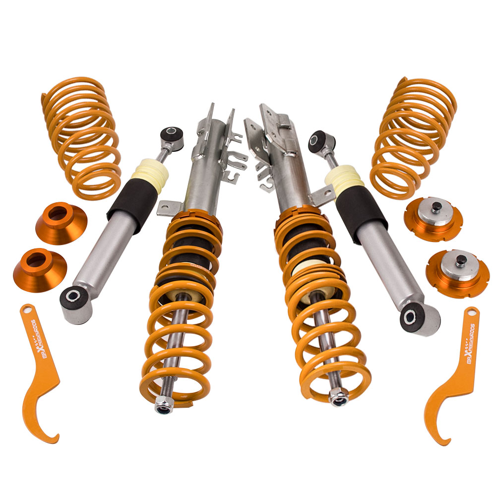for Fiat 500 for Ford Ka 1 4 Abarth 2007 2014 Adjustable Coilover Suspension Kit inc
