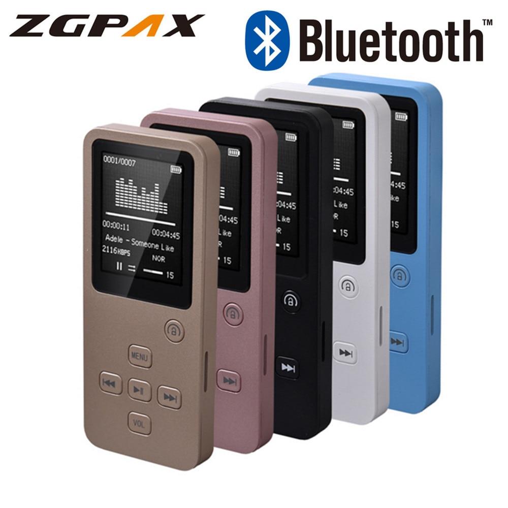 32 GB Bluetooth MP4 lecteur Support TF carte FM E-book Pedo compteur horloge Portable 1.8 ''écran haut-parleur HiFi son MP3 lecteur de musique