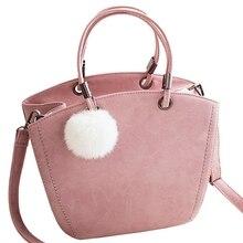 New Fashion Women Shoulder Bag Vintage Winter Woman Handbag Lovely Suede Messenger Bag Crossbody Bag For Women S-176