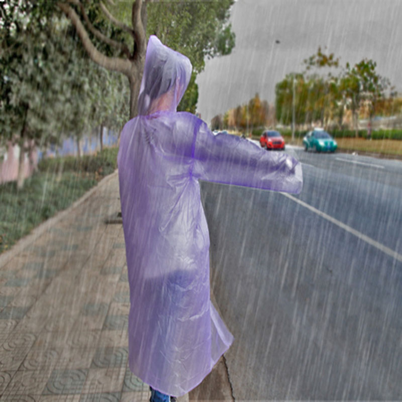 Bulk 5pcs disposable outdoor emergency rain coat ponchos for Fishing rain gear reviews