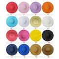 Бесплатная доставка 2017 Мода Лето Соломенная Шляпка Cap женская Дамский складная Широкий Большой Брим Floppy Пляж Шляпа женский шляпа Солнца женщины