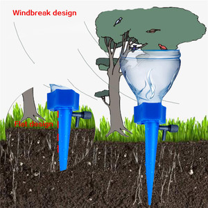Image 4 - Plant Self Watering Adjustable Stakes System 12pcs/set Vacation Plant Waterer Automatic Watering Spikes Irrigation System #YJ