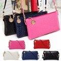 New 1Pc Women Mini Shoulder Bag Messenger Bag Faux Leather Crossbody Bag Satchel Handbag