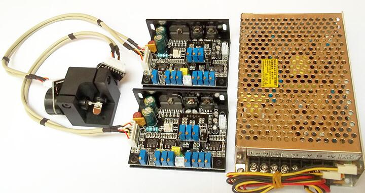 30K laser Galvo Galvanometer Based Optical Scanner (including Show Card) 500pcs 1210 30k 30k ohm 5