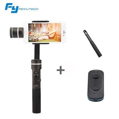 FeiyuTech FY SPG C cardan de poche 3 axes pour Smartphone stabilisateur pour Iphone pour HUAWEI Xiaomi selfie bâton PK Zhiyun lisse Q