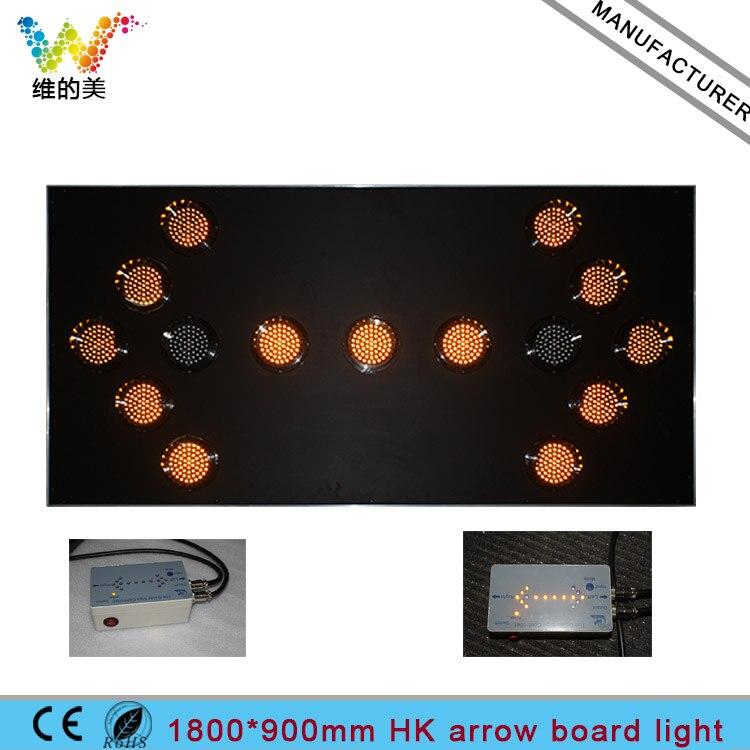 US HK Market 72*36 Inch Truck Mounted Controller Arrow Board Light