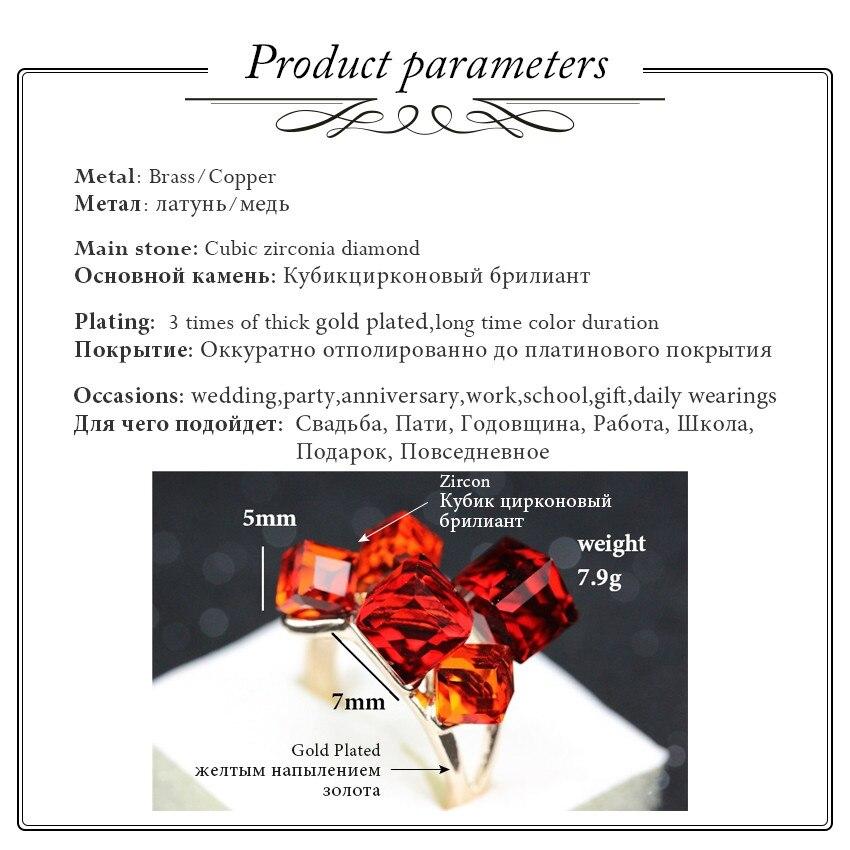 Uloveido Sale Gaver til nytår Rose Gold Color smykker Kvinders - Mode smykker - Foto 4
