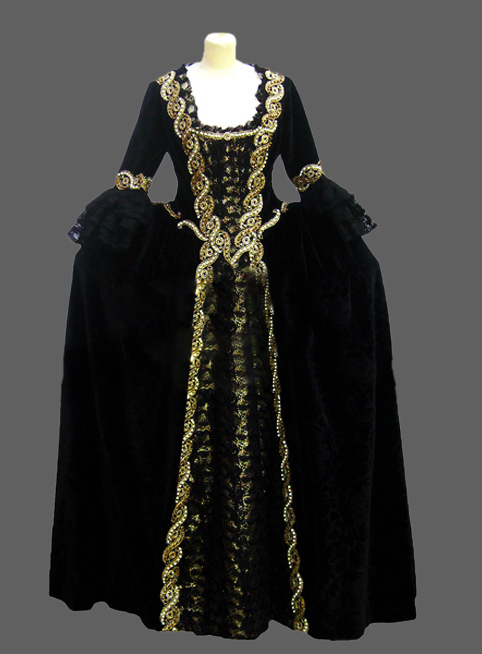 Cheap Gothic Dresses Patent Leather Victorian Inspired