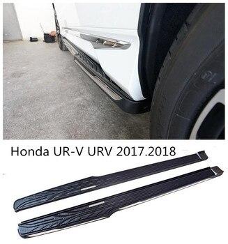 Pour Honda UR-V URV 2017.2018 voiture marchepieds Auto côté marchepied pédales haute qualité tout nouveau Nerf Bars