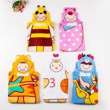 Детские пижамные комплекты с героями мультфильмов; детские халаты из кораллового флиса с капюшоном; Одежда для мальчиков и девочек; банные халаты; детская одежда для сна; купальные халаты для От 0 до 6 лет