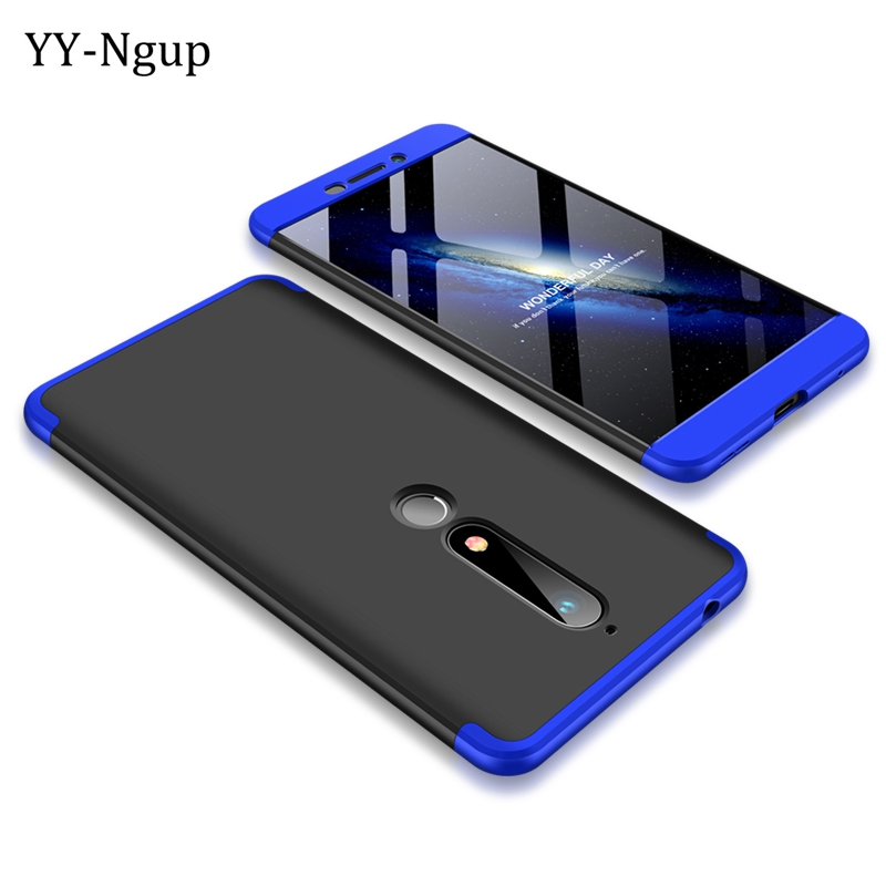 Coque for Nokia 6 2018 Case 360 Degrees Full Ultra-thin Phone Case Cover on for Fundas Nokia 7 Plus Protective Case etui 3 in 1 ...