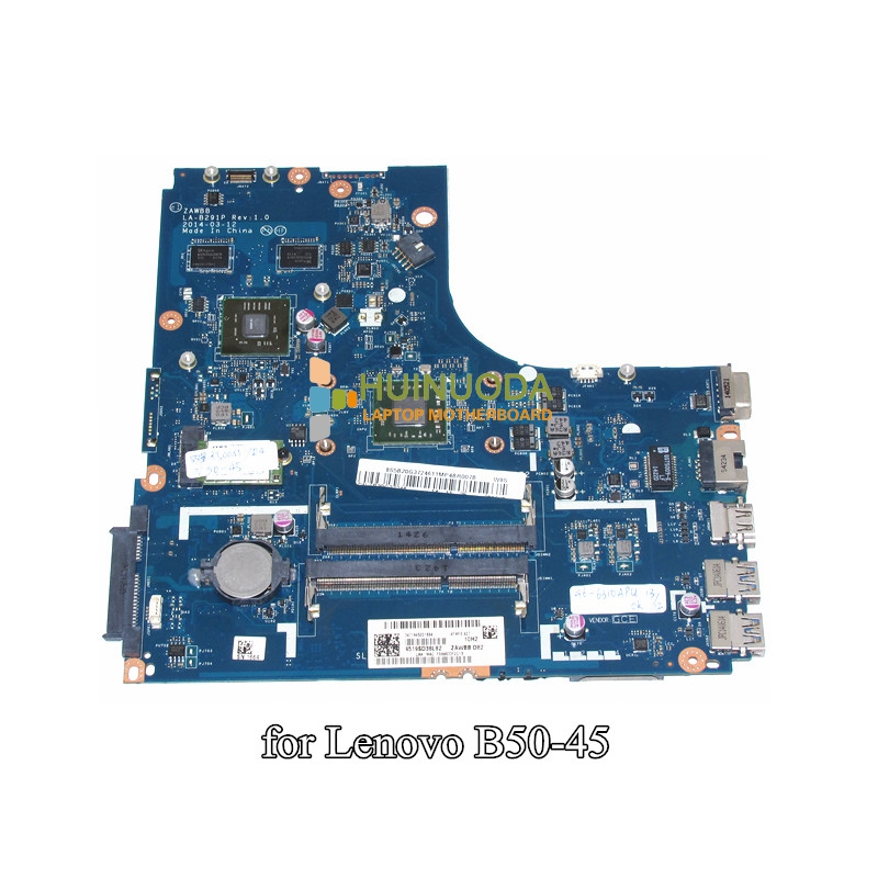 Efficient Nokotion Zawbb La-b291p Laptop Motherboard For Lenovo N50-45 A6-6310 Cpu Ati 8500m R4 Graphics Ddr3 Mainboard