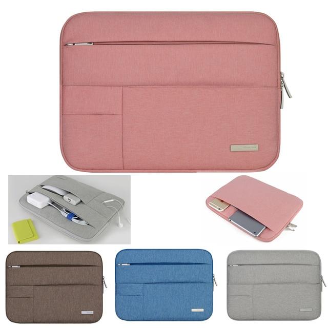 Hot caso notebook bolsa para laptop/manga pro 13 11 13 air retina 13 saco protetor para apple mac macbook