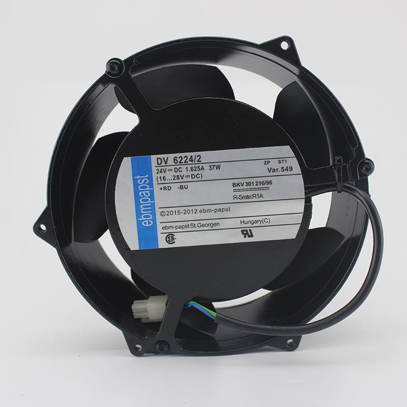 ebmpapst DV6224/2 DV 6224/2 Server Square Fan DC 24V 37W 172x172x51mm 3-wire ключ зубр эксперт hex 12 27451 12
