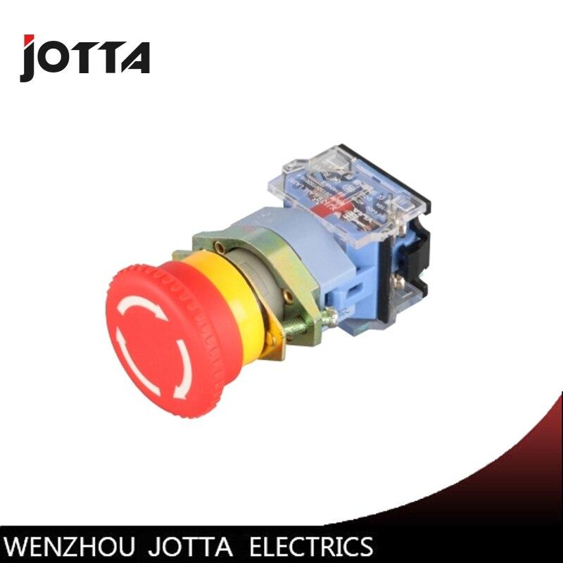 Interruptor de botão de emergência 22 LA39-11ZS mm
