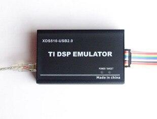 USB 2.0 JTAG TMS320 XDS510 TI DSP Emulator ,Support CCS3.3 WIN7 F2833x ,Programmer