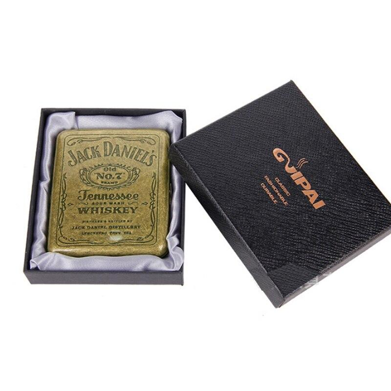 (20 Cigarette ) Vintage copper Cigarette Case Metal Cigarette Case Classic Design Edition Cigarette Box Men Gift