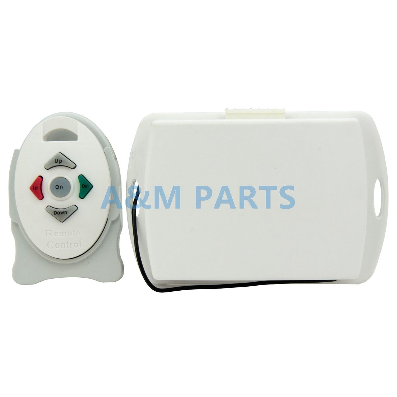 Wireless Windlass Remote Control 4 Channel with Autodrop Autodown Radio Receiver Transmitt