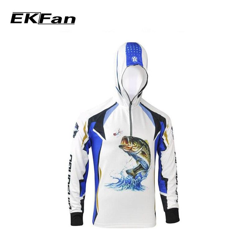 Prix pour Nouveaux Hommes À Manches Longues Dawa Daiwa De Pêche Vêtements À Séchage Rapide Respirable Anti-UV Protection Solaire Chemise Manteau Homme Sport Vêtements