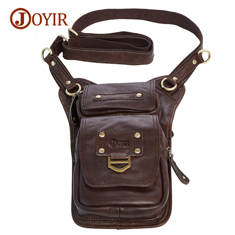 Joyir genuine leather bags for men shoulder chest bag leisure fashion pack casual high quality men
