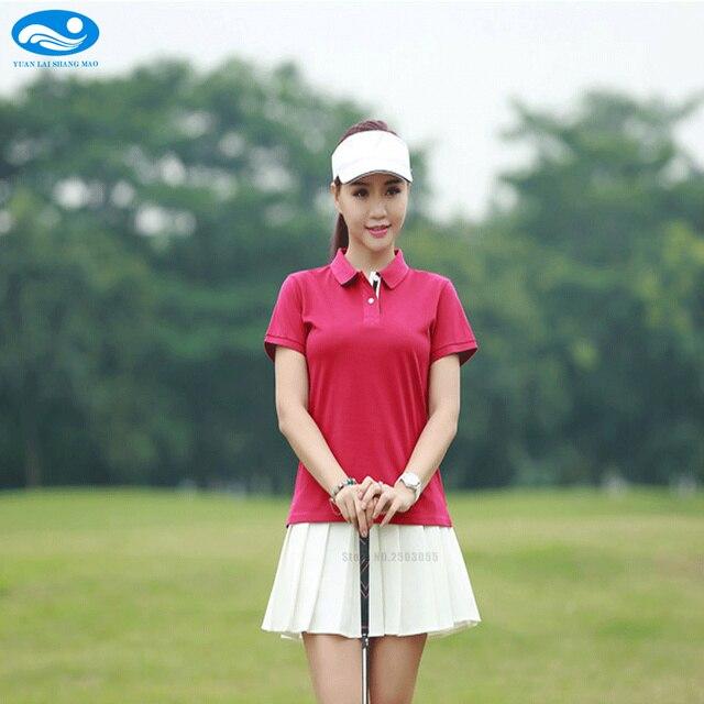 2017 2018 New Polo Women's Golf T shirt Summer Clothing ...
