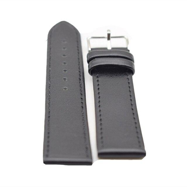Nieuwe Bamboe Horlogeband Zwart lederen Voor Houten Horloge Met Hoge Kwaliteit Mode Geschenken