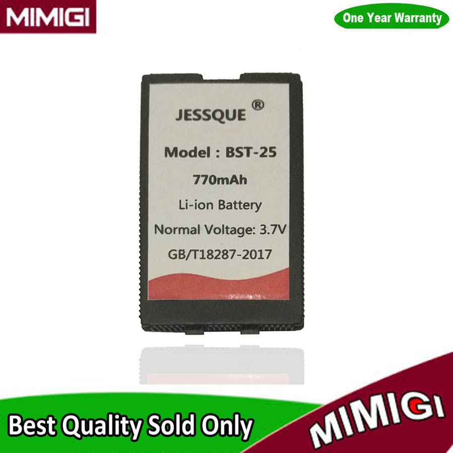 JESSQUE 770 mAh BST-25 Batería Para Sony Ericsson T610i T606 T608 T610 T616 T628 T630 T637 OF01 BST25 Batería Betterie AKKU