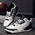 Nueva Manera de Los Hombres Zapatos Planos de Los Hombres Zapatos de Invierno de Los Hombres de Los Holgazanes de Cuero Zapatos Casuales Negros Zapatos Hombre ML28