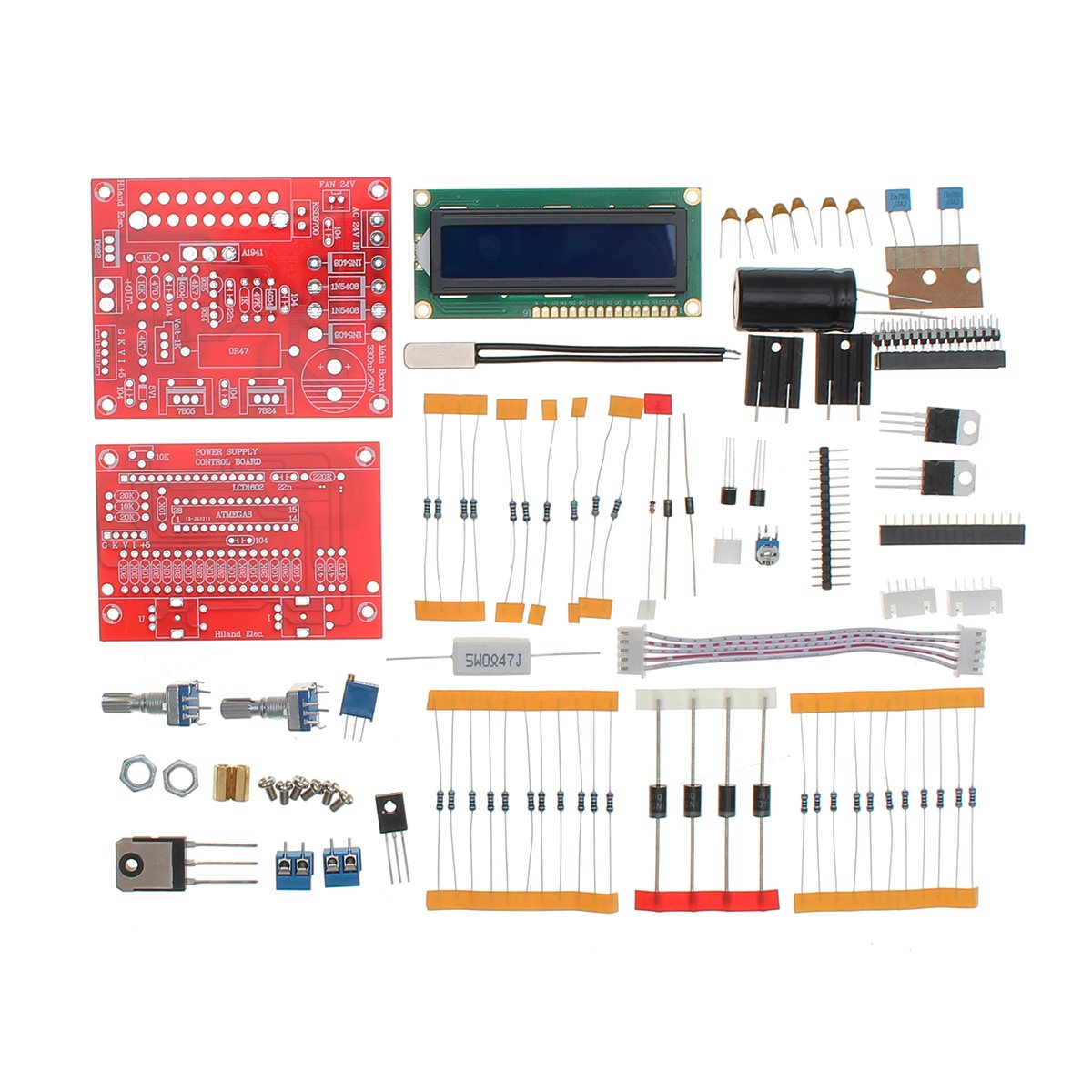 0 28v 001 2a Adjustable Regulated Power Kit Dc Direct Current And Pulsed Circuit Fault Limiter 2017 Hot Orignal Hiland Supply Diy