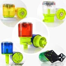 Защита от дождя оптически Контролируемая без переключателя Солнечный Предупреждение сигнальная лампа светильник безопасности Сигнал маяка для аварийной ситуации движения сигнальная лампа светильник