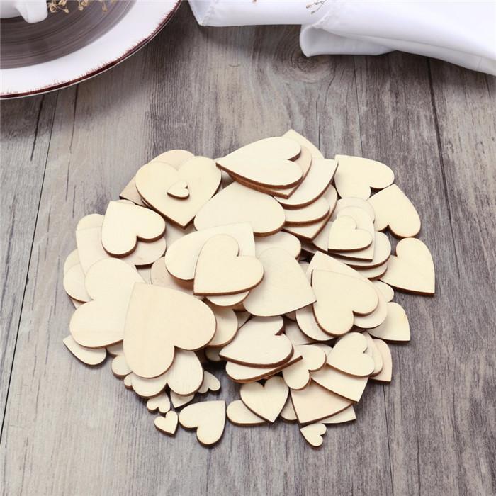 100pcs-Plain-Wooden-Heart-Embellishments-Heart-Shape-Unfinished-Wood-Flatback-Button-Wedding-Crafts-Embellishment