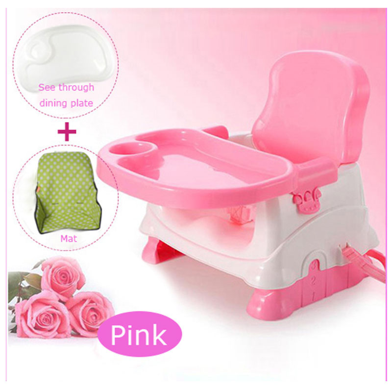 Mini Plastic Baby Dining Chair Enfant Multifunctional Dining Table Chair Portable Foldable Small Baby Booster Seat Eating ChairMini Plastic Baby Dining Chair Enfant Multifunctional Dining Table Chair Portable Foldable Small Baby Booster Seat Eating Chair