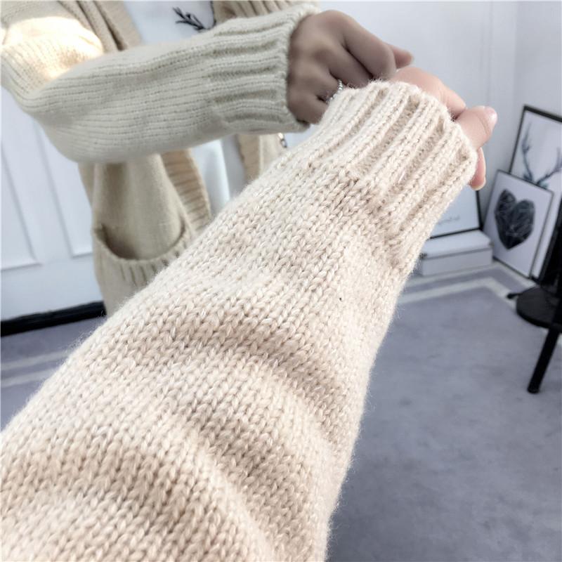 HTB1bIN3SVXXXXcGXXXXq6xXFXXXd - Women Long Knitted Sweater Coat Hooded Sweater Cardigans JKP039