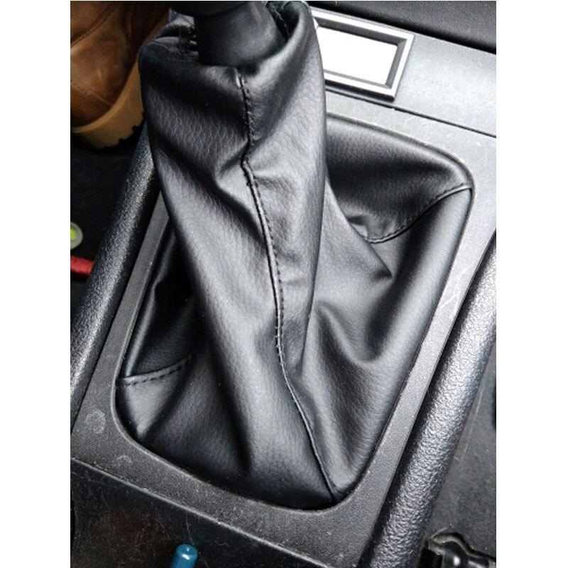 Car Shift Gear Knob Gaitor Leather Boot For OPEL ASTRA II G (1998-2010) ZAFIRA A (1999-2006)