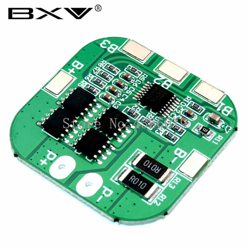 4S 14.8V / 16.8V 20A Puncak Li-ion BMS PCM Battery Protection Board BMS PCM untuk Lithium LicoO2 limn2O4 18650 Baterai Li