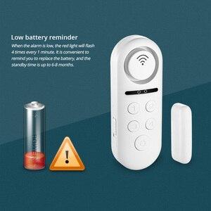 Image 5 - KERUI WIFI датчик двери, окна, двусторонний магнитный детектор 120 дБ 4 цифровой пароль приветствуется сигнализация система домашней безопасности