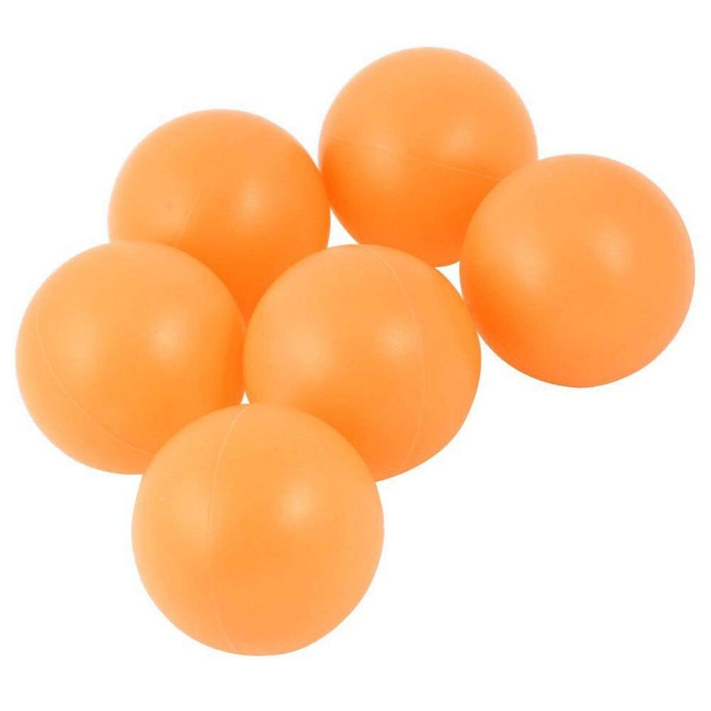 New 6x Plastic Table Tennis Balls Ping Pong Ball 40mm Diameter Orange