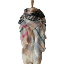 za winter scarf 2016 Tartan Scarf women desigual Plaid Scarf cuadros New Designer Unisex Acrylic Basic Shawls warm bufandas 6027