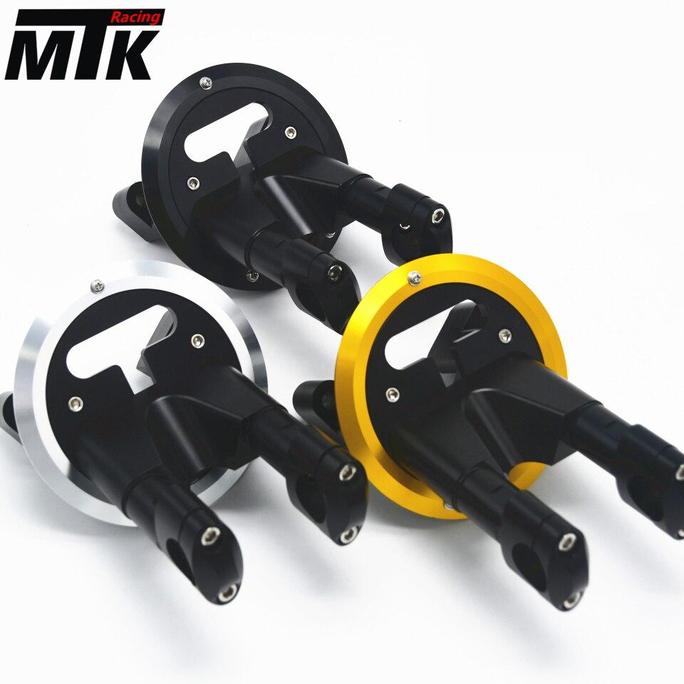 MTKRACING trasporto libero T-Max nuovo KIT RISER VERSARE GUIDON T-Max 530 TMax 530/ABS 2012-2016 Accessori Moto 3 colori